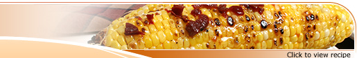 Grilled Corn with Chipotle, Molasses and Orange Glaze Recipe
