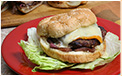 Grilled Turkey Burger with Onion Relish Recipe