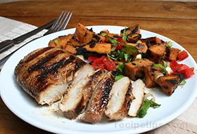 Grilled Marinated Chicken Recipe