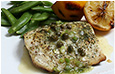 Grilled Mahi Mahi with Lemon & Caper Dressing Recipe