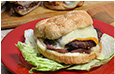 Grilled Turkey Burger with Grilled Onion Relish Recipe