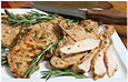 Grilled Turkey Tenderloins with Rosemary Recipe